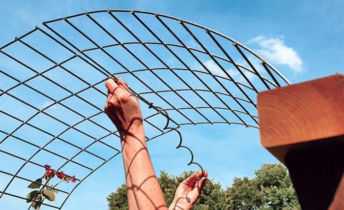 Как сделать своими руками арку на даче своими руками