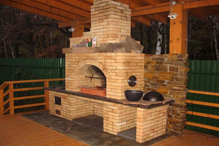 Печка из кирпича своими руками для дров фото 621