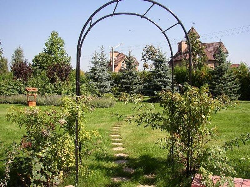 Арка Металлическая Садовая